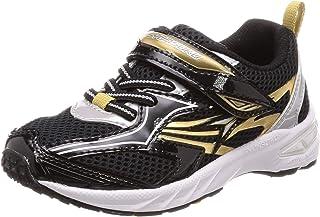 Syunsoku 瞬足 运动鞋 学生鞋 大型鞋钉 轻量 15厘米~23厘米 2.5E 儿童 男孩 SJC 6210 黑色 18.0 cm 2.5E