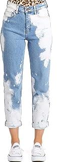 Cello Jeans 女式青少年高腰漂白牛仔裤