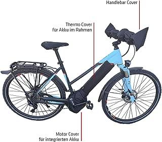 NC-17 连接电子自行车电池保护套标准适用于下管中的电池/电池热封外壳/氯丁橡胶/黑色