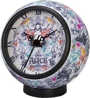 145片 拼图 不可思议的国家爱丽丝 卡洛·W·Wonderland 【拼图时钟】(直径10x高10cm)