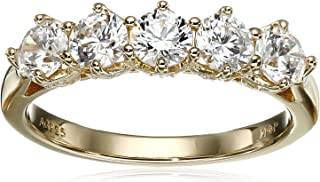 Myia Passiello 五颗宝石黄色戒指
