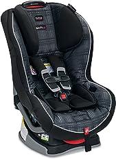 美版Britax 宝得适 Boulevard G4.1 Convertible 儿童安全座椅 Domino 多米诺 适用体重5-65磅 约0-8岁 五点式安全带,40磅以下可反向安装,带美标latch三点式接口(适用isofix接口+latch上拉带),isofix或者安全带安装均可 带Click & Safe Snug Harness Indicator系统 多档高度和角度调节,特有SafeCell冲击保护系统,美亚畅销同款,该款设计,测试,制造均在美国 美国进口 [跨境自营]包邮包税