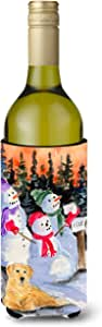Snowman with Golden Retriever Michelob Ultra Koozies for slim cans SS8989MUK 多色 750 ml
