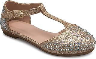 OLIVIA K 女式尖头平底鞋 - 一脚蹬风格休闲舒适芭蕾舞鞋,带柔软的麂皮漆和皮革