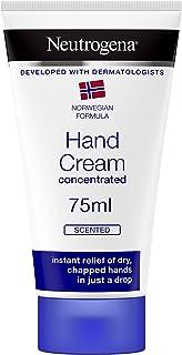 Neutrogena 露得清 挪威成分浓缩护手霜,有香味,75毫升,即时和持久缓解,300次应用
