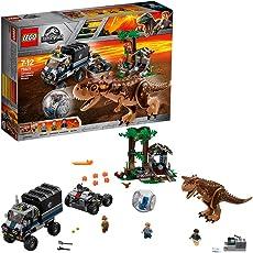 LEGO 乐高  拼插类 玩具  Jurassic World 侏罗纪世界系列 食肉牛龙回旋舱大逃生 75929 7-12岁