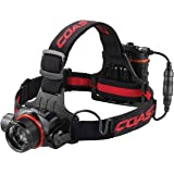 HL8R 800 Lumen Rechargeable Pure Beam Focusing LED Headlamp with Twist Focus and Light Control Dial