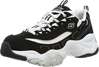 Skechers 斯凯奇 女士 D'lites 3.0 12956-bkw 运动鞋