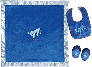 Carstens Home Infant-Boys' Lil' Bronc 盒装套装 - Jb353