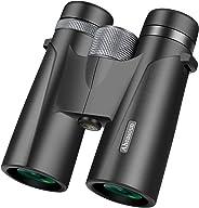 成人双筒望远镜 适合观鸟看看见观光狩猎体育活动Ahead-Bino 12x42 大 黑色