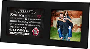 KH Sports Fan 40.64cm X 20.32cm 家庭欢呼黑色单拼贴照片框 黑色 1003100438