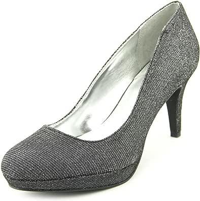 Alfani Madyson 女式 40.5 码 灰色防水台鞋跟