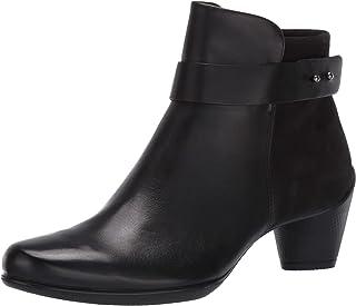 ECCO Shape M 35 女士及踝靴 黑色/黑色 8-8.5