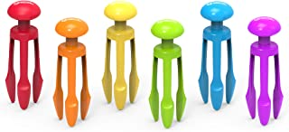 Learning Resources 3 爪钳,握笔钳,感官盒,精细运动玩具,6 件套,适合 4 岁以上儿童