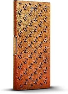 奢华黑色首字母 K3 炫酷设计 iPhone 8/7/6 Plus(5.5 英寸)皮革钱包式手机壳 - 灰褐色 Tawny Brown iPhone 8/7/6/6s Plus