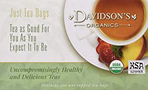 Davidson's Tea 热带绿茶Tropical Green ,100个茶包