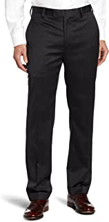 Louis Raphael Men's Tailored Modern Fit Flat Front Suit Separate Pant