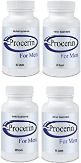 Procerin Tablets For Hair Loss - (4) Months Supply - Advanced Anti-Hair Loss Formula