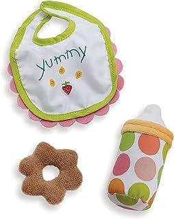 Manhattan Toy Wee Baby Stella 12 英寸玩偶配件套装 12 months to 72 months Soft Doll Feeding Set