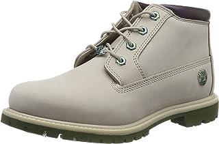 Timberland Nellie 高帮皮马靴(宽松),女式靴子