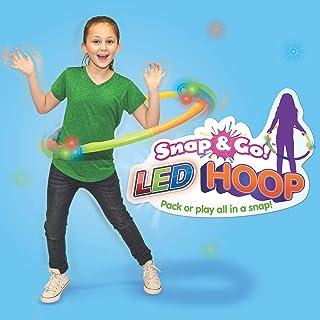 Geospace Snap & Go! Hula Hoop Toy, Red, Orange, Yellow, Blue, Green, Purple