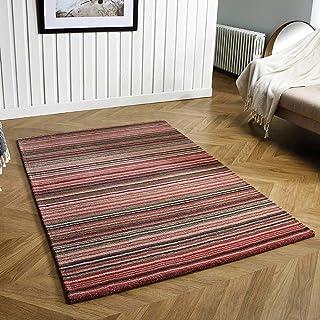 地毯直接地毯 粉红色 120cm x 170cm 34242
