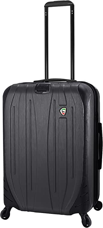 Mia Toro 意大利 Ferro 硬侧 63.5 厘米行李箱,石墨色