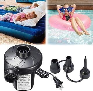 Rantizon 电动充气泵 - 空气泵 水池泵 110-120V/150W 电动泵 适用于气床 充气泵 适用于野营运动的气泵 儿童充气游泳池