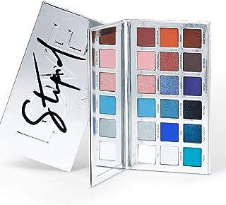 Haus Laboratories Lady Gaga制作的:STUPID LOVE 18色眼影盘 | 哑光色,金属色,闪光色和多反光修饰的眼妆,素食和无残酷