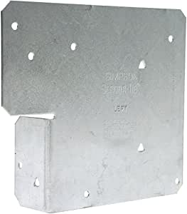 Simpson 强力领带 ACE6Z-40 ACE6Z Zmax 镀锌 45.72-规格 15.24 厘米。 可调端柱帽(40 只装)