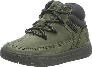 Timberland Davis Square 儿童胶底鞋 休闲鞋 皮革牛津布