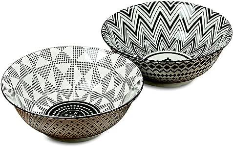 "Whole House Worlds Janin 餐具 Set of 6-8"" Bowls 18.72"