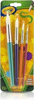 Crayola 大色漆刷(4 支圆形),非常适合儿童