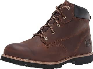 "Timberland PRO 男士 Gritstone 6"" 软头工业靴"