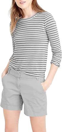 WDS 混合 & Company 女式超舒适百慕大散步短裤  浅灰 15
