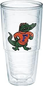 Tervis 1039757 Florida University Albert Emblem Individual Tumbler, 24 oz, Clear