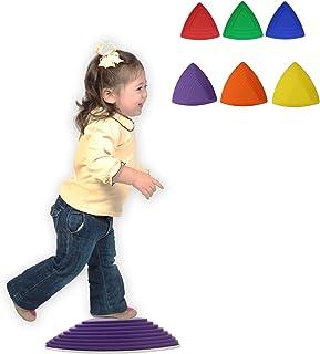 赶快行动吧! Kids 踏脚石乐 6 件装 - 平衡*协调玩具训练工具适合儿童和身体*