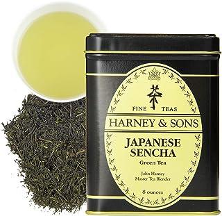 Harney & Sons 日本煎茶绿茶,散装 8盎司(约226.80克) 锡罐