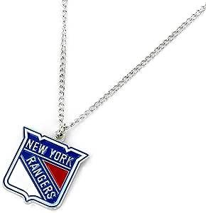 aminco NHL 纽约游骑兵队标志吊坠项链