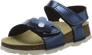 Superfit 女童鞋垫拖鞋系带凉鞋