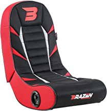 BraZen Python 2.0 蓝牙环绕声游戏椅,红色