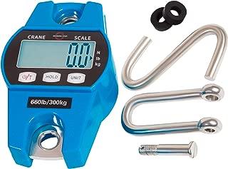 MODERN STEP 悬挂秤 660Lb 300 千克 适用于农场、狩猎、弓拉重量、大鱼和Hoyer 升降带精确传感器(数字、专业、轻箱)