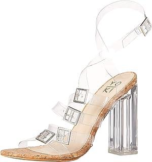 Yoki 女士舒适高跟鞋