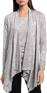 Calvin Klein 女士金属蛇宽松衬衫