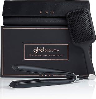 ghd platinum+ 造型器礼品套装,配有桨刷和热保护盒,限量版