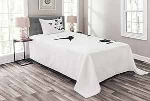 多色多色床单,多种颜色可选,三种尺寸 黑白色 两个 bed_12385_twin