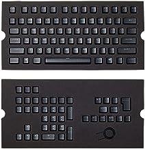 CORSAIR 海盗船 PBT二色键帽全104 / 105键盘 - RGB和背光兼容 - 适用于机械键盘 - FPS MOBA MMO - 黑色
