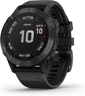 Garmin 佳明 Fenix 6 GPS 多功能智能手表 手腕处测心率 黑色 / 黑色 M