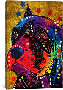 iCanvasART DRO60-1PC3 Bri #1 Canvas Print by Dean Russo, 0.75 by 12 by 8-Inch