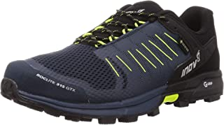 Inov-8 男式 Roclite 315 GTX – 防水 Gore Tex 徒步鞋 – 轻盈 – 素食主义者 *蓝/黄色 7.5